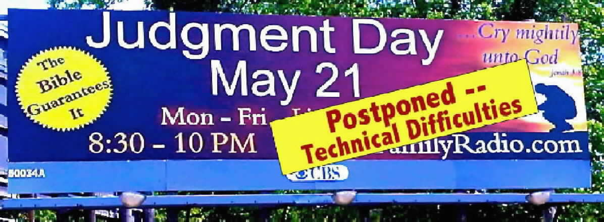 Judgment Day Postponed