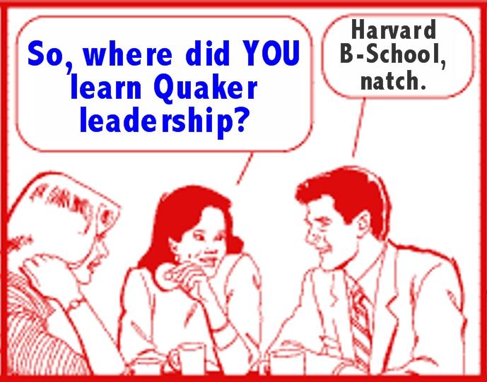 learning Quaker leadership