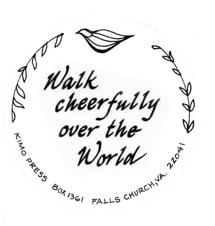 Walk Cheerfully.