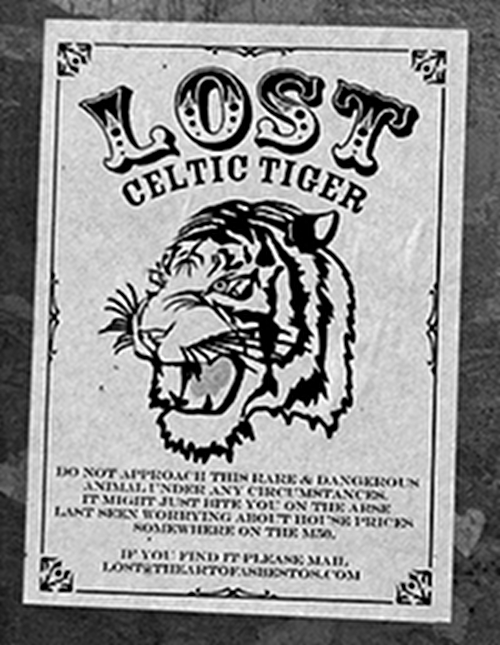Celtic Tiger Lost