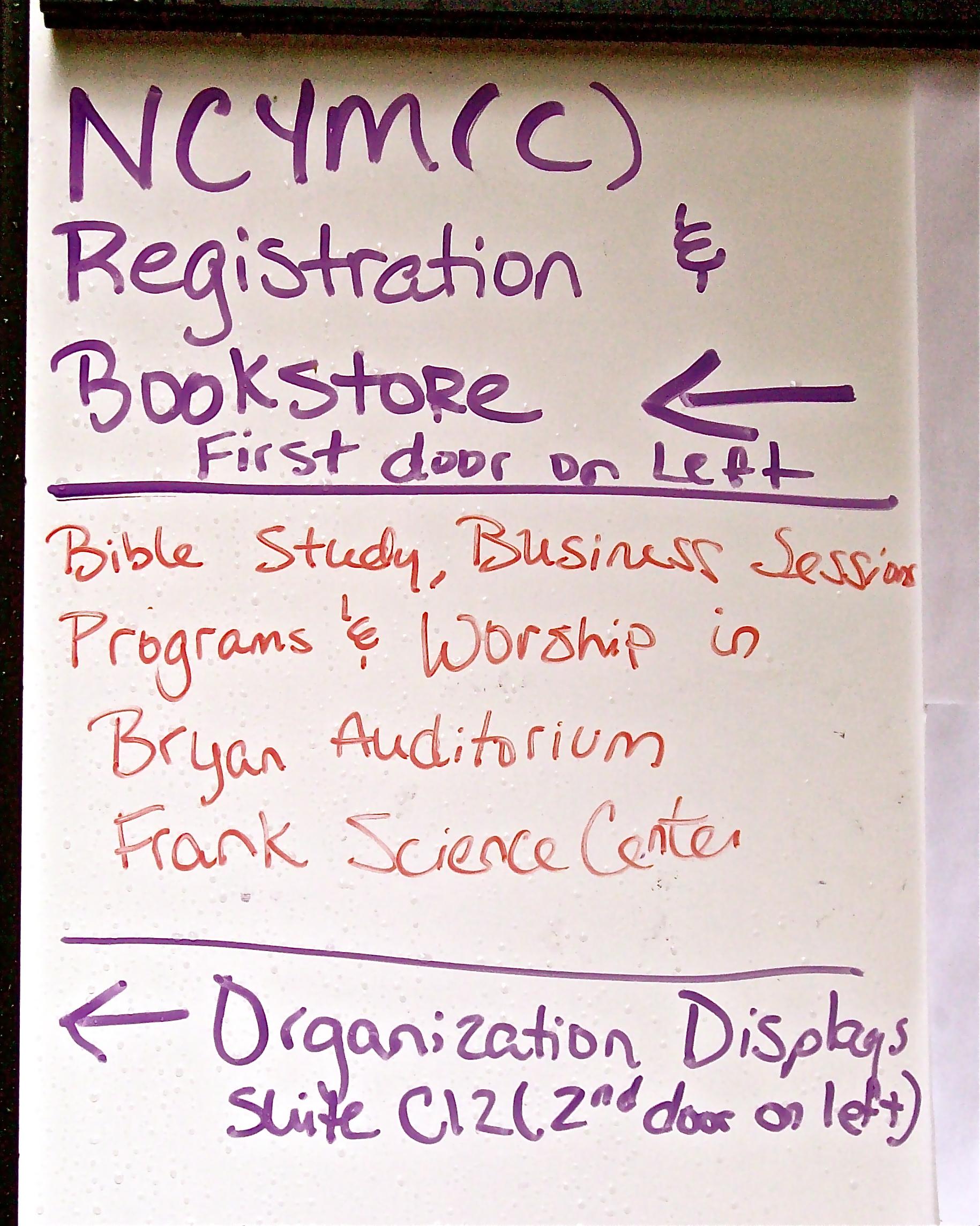 NCYM-C Sign