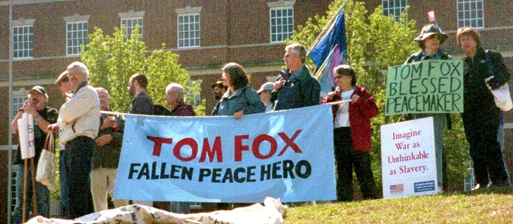 Tom Fox banner