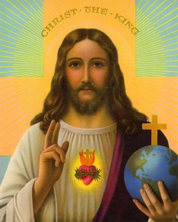 Christ the King: not Just a pretty picture: A Political agenda