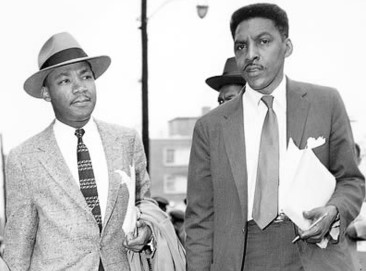 Bayard Rustin & Dr. Martin Luther King Jr.