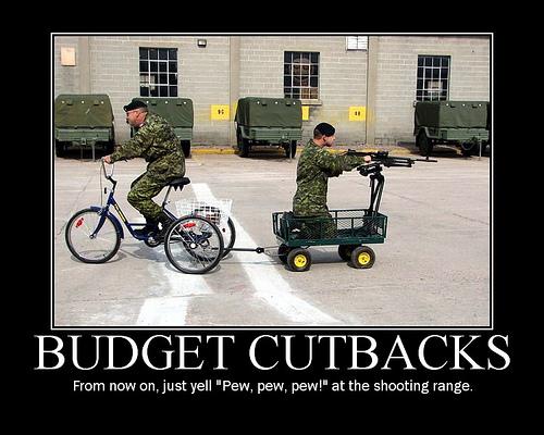 Army budget cuts