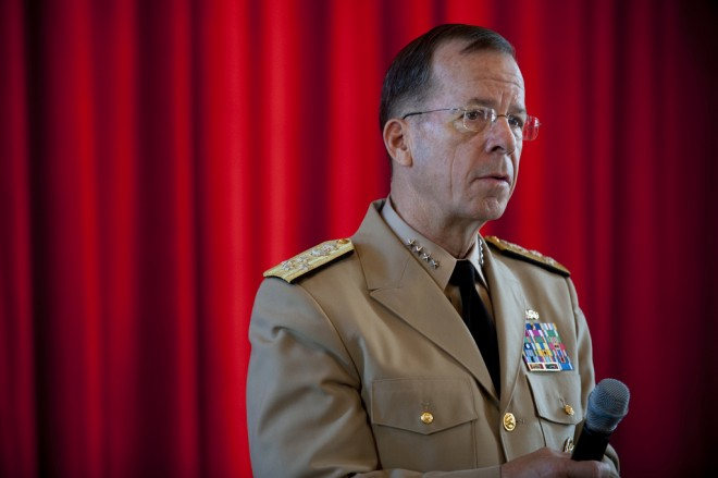 Another Iran Peacenik: Joint Chiefs Chairman Admiral Mike Mullen