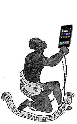 Modern slavery -- smartphones & computers