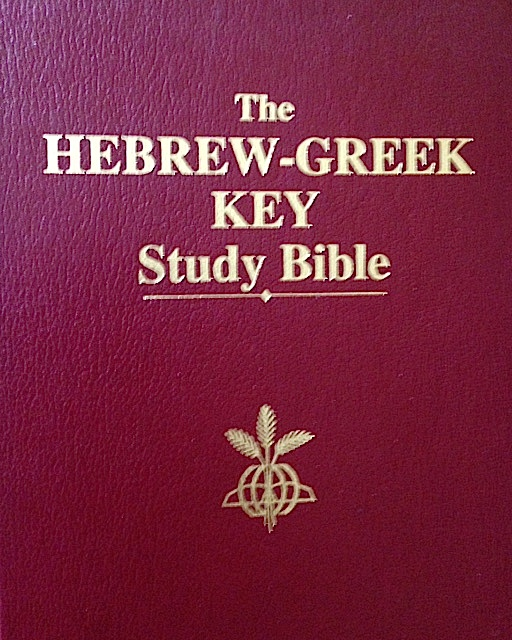 BIble-Hebrew-Greek-Words