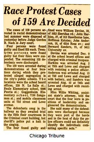 Bernie-arrest-Chicago-1962-report