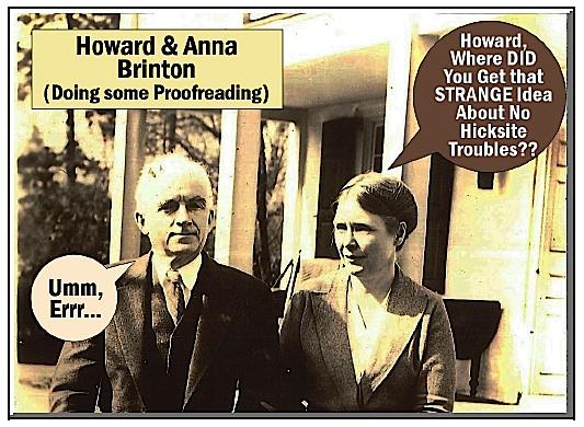 Howard and Anna Brinton on