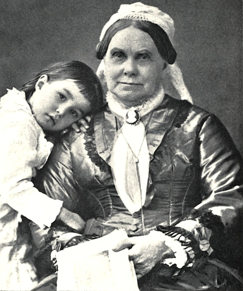 Elizabeth Buffum Chace and Bessie, 1879