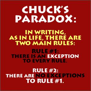 Chuck's-Writer's-Paradox