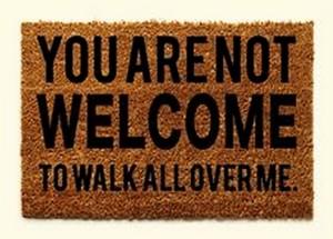 Doormat-anti