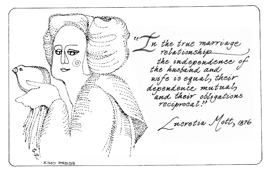 Lucretia Mott on Marriage