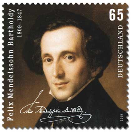 Mendelssohn-stamp
