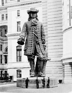 Penn-statue