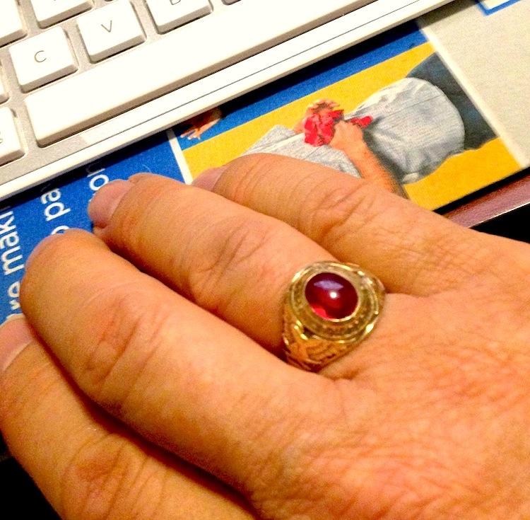My St. Joseph's Military Academy ring.