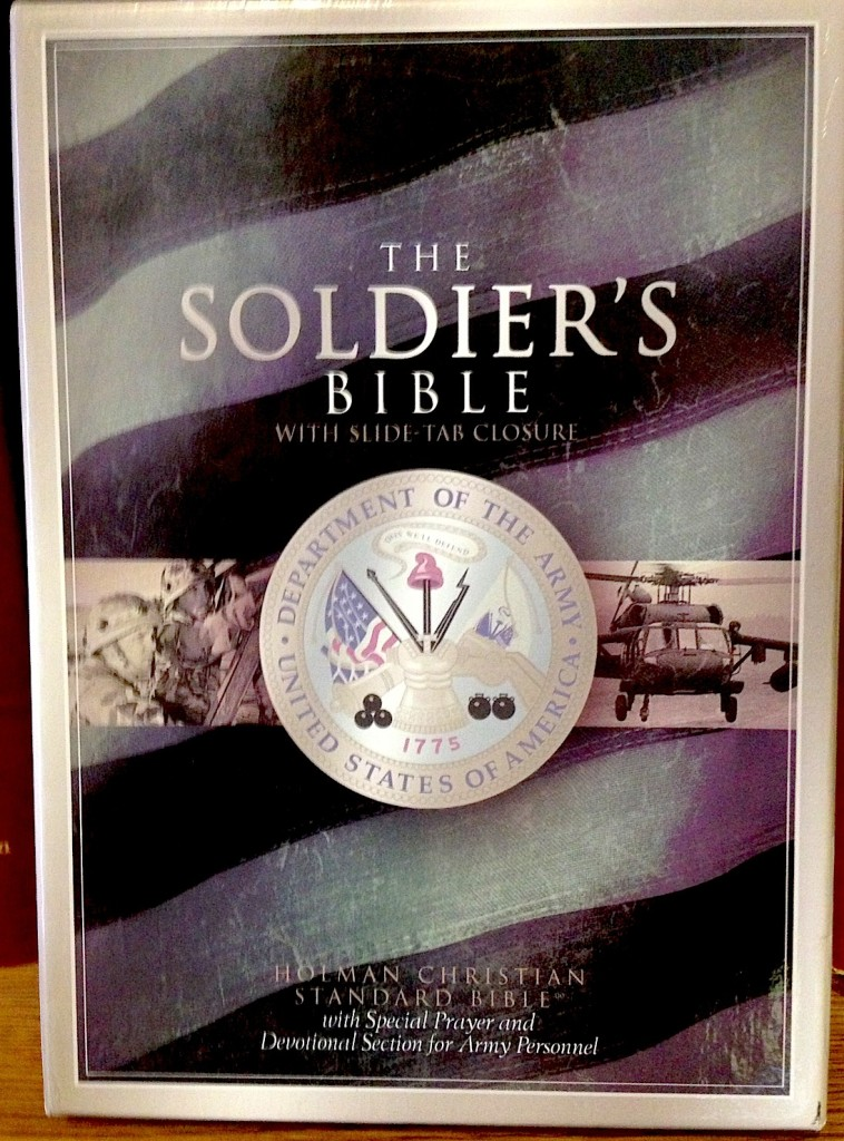 Soldiers-Bible