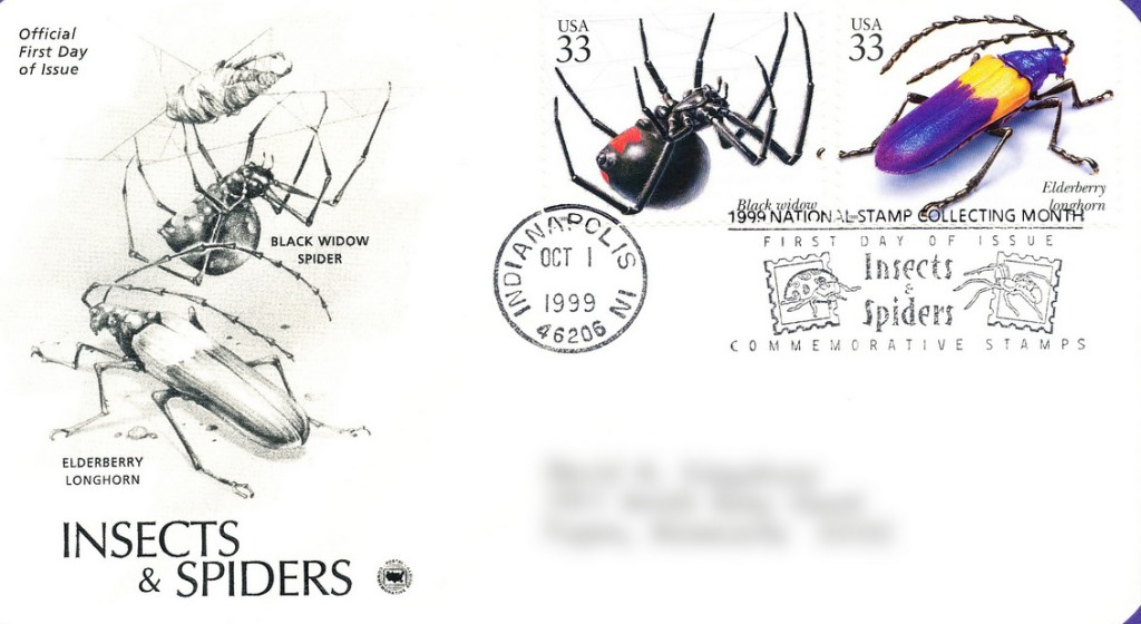 Spiders-Stamps-Cover