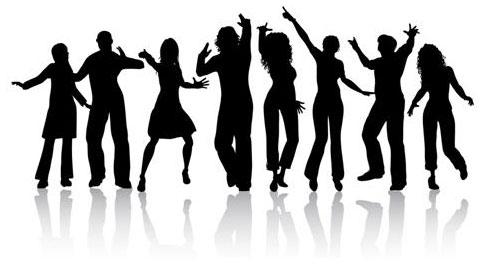Quaker dancers