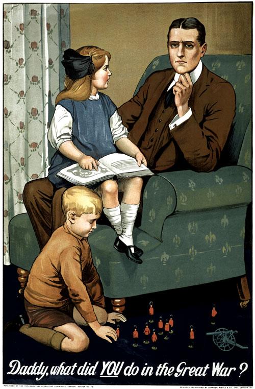 Pro-War Poster, World War One