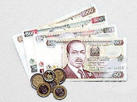 Still more Kenyan money