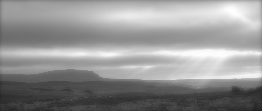 Pen y Ghent in the mist