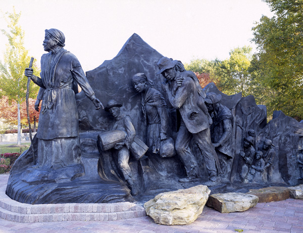 Monument to the Underground Railroad, Battle Creek, Michigan