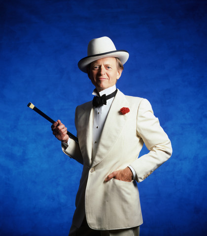 Writer Tom Wolfe, in his Southern Gentleman array