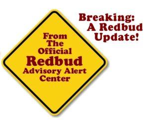 Redbud Alert -2