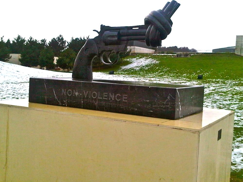 Caen-twisted gun