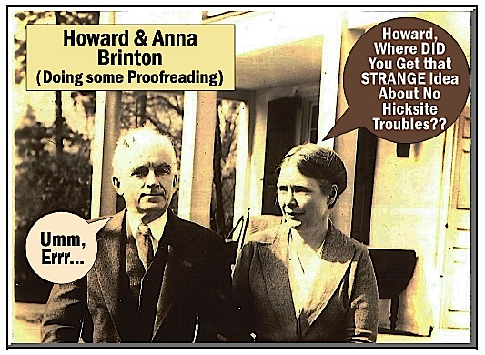 Howard and Anna Brinton on