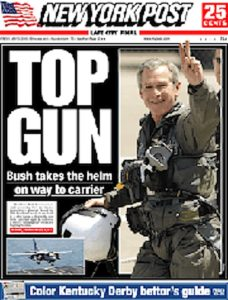 GWB-as-top-gun